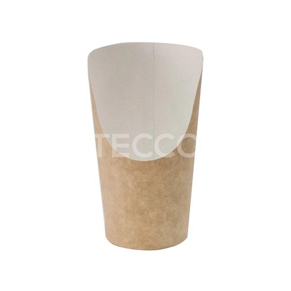 Упаковка для картошки фри 88х61х130мм Tecco 011003