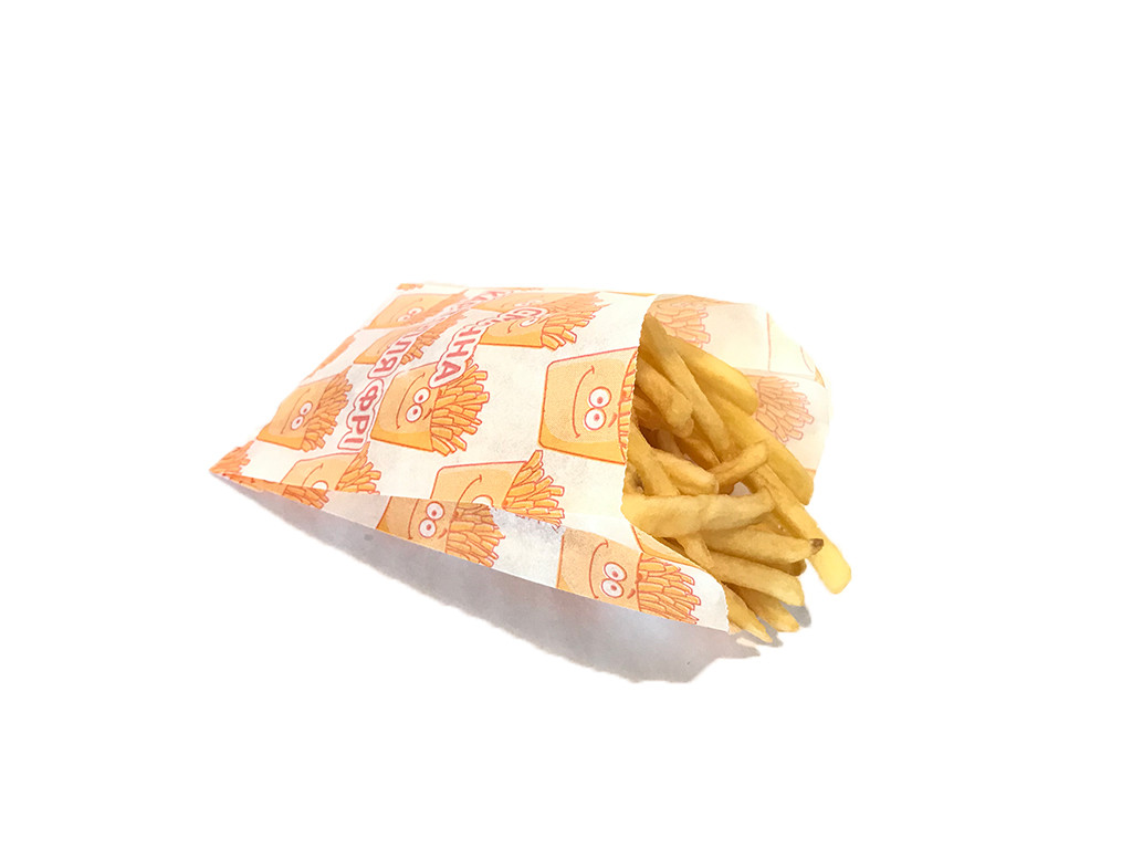 Упаковка для картошки фри (до 250гр.) 256