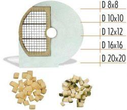 Диск для овощерезки Celme D 10x10 SX, кубик 10х10 мм