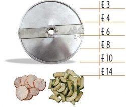 Диск для овощерезки Celme E10 AK ломтики 10 мм