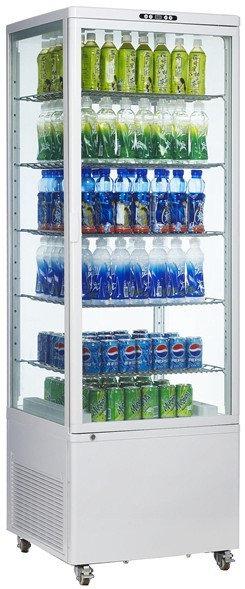Витрина холодильная EWT INOX RT500L