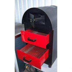 Печь для запекания картофеля газовая Pimak М079 на 2 ящика