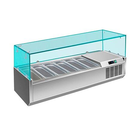 Витрина холодильная Berg G-VRX1400/380