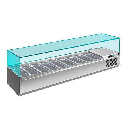 Витрина холодильная Berg G-VRX1800/330