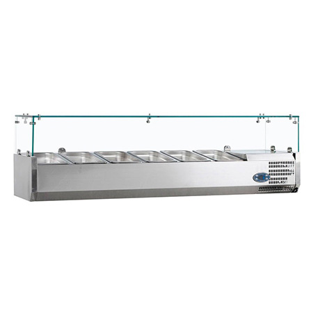 Витрина холодильная Tefcold VK38-150-I