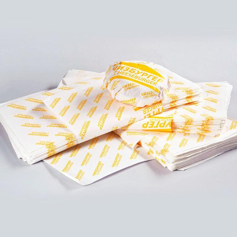 Бумага оберточная для чизбургера 9.322