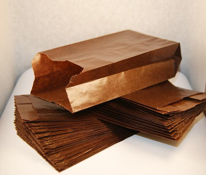 Упаковка для французского хот-дога шоколадный 7.1211