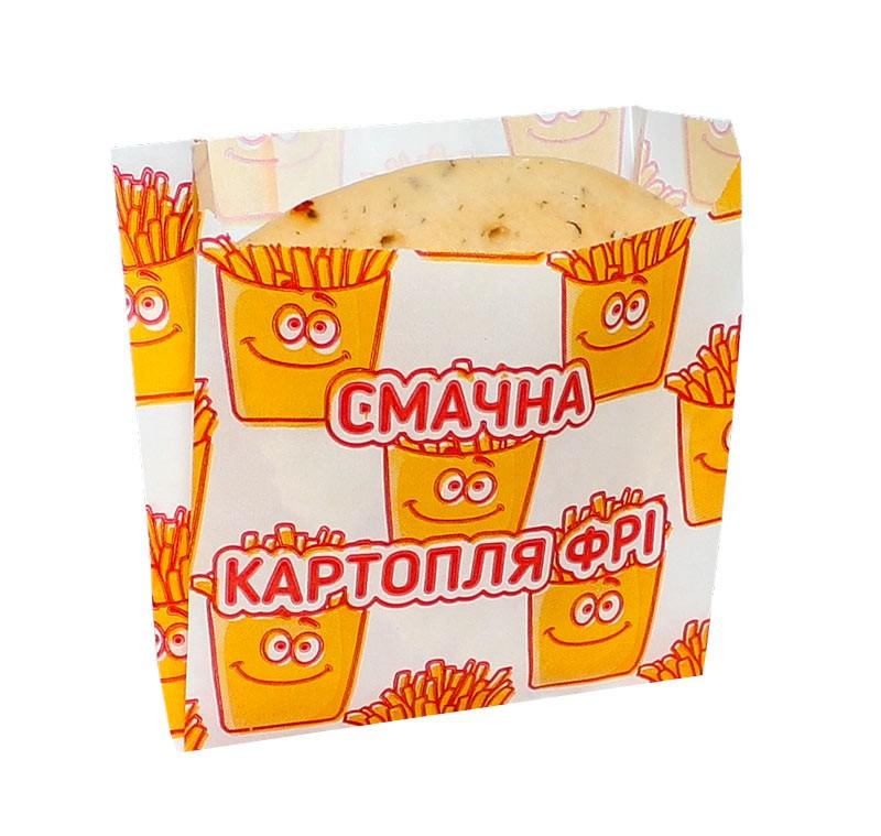 Упаковка для картошки фри 7.1671