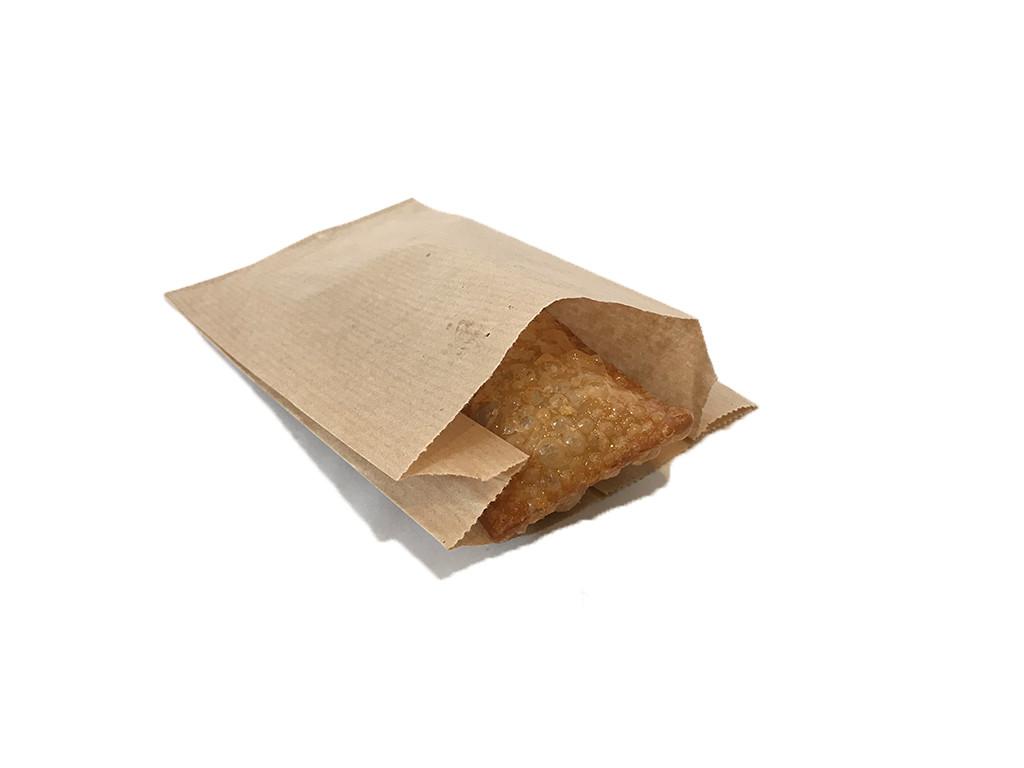 Пакет бумажный саше крафт бурый 1196