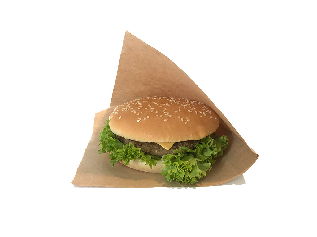 Упаковка для гамбургеров бумажная 1540
