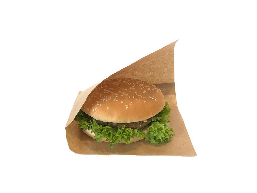 Упаковка для гамбургеров и блинов жиростойкая 1758
