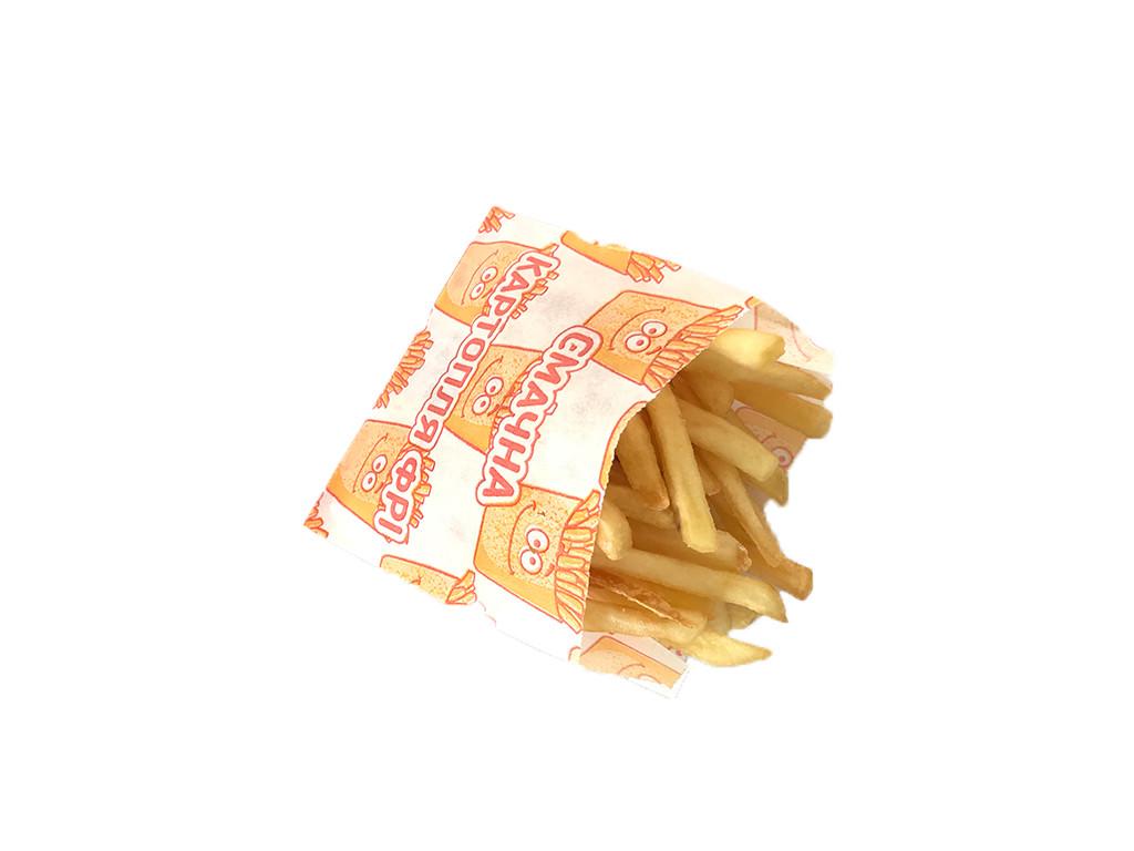Упаковка для картофеля фри 1884