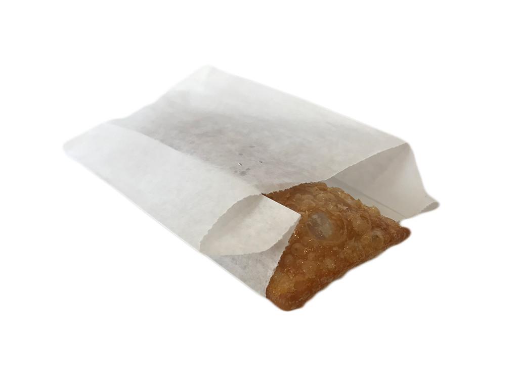 Пакет бумажный упаковочный крафт белый 549