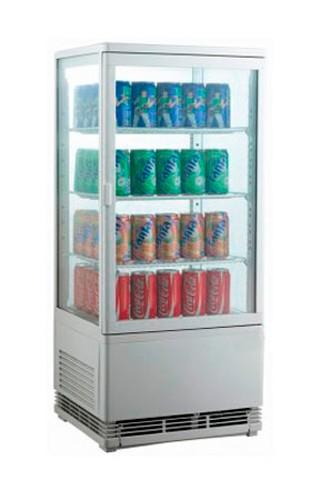 Шкаф холодильный EWT INOX RT68L