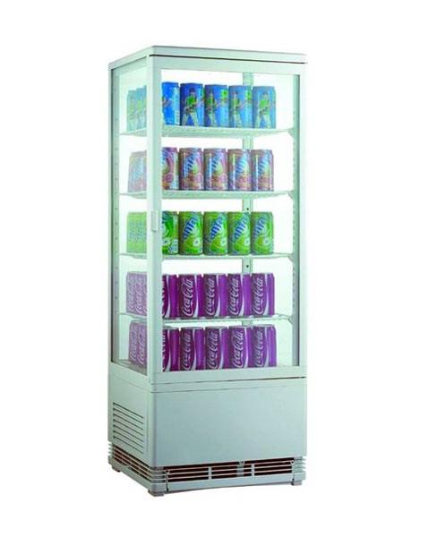 Шкаф холодильный EWT INOX RT98L