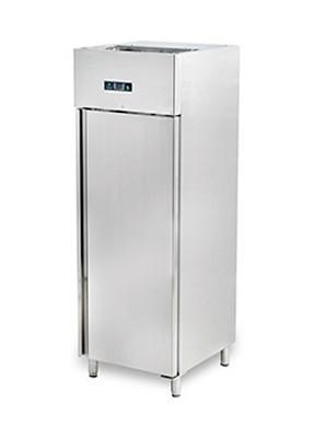 Шкаф холодильный Hurakan HKN-GX650TN INOX