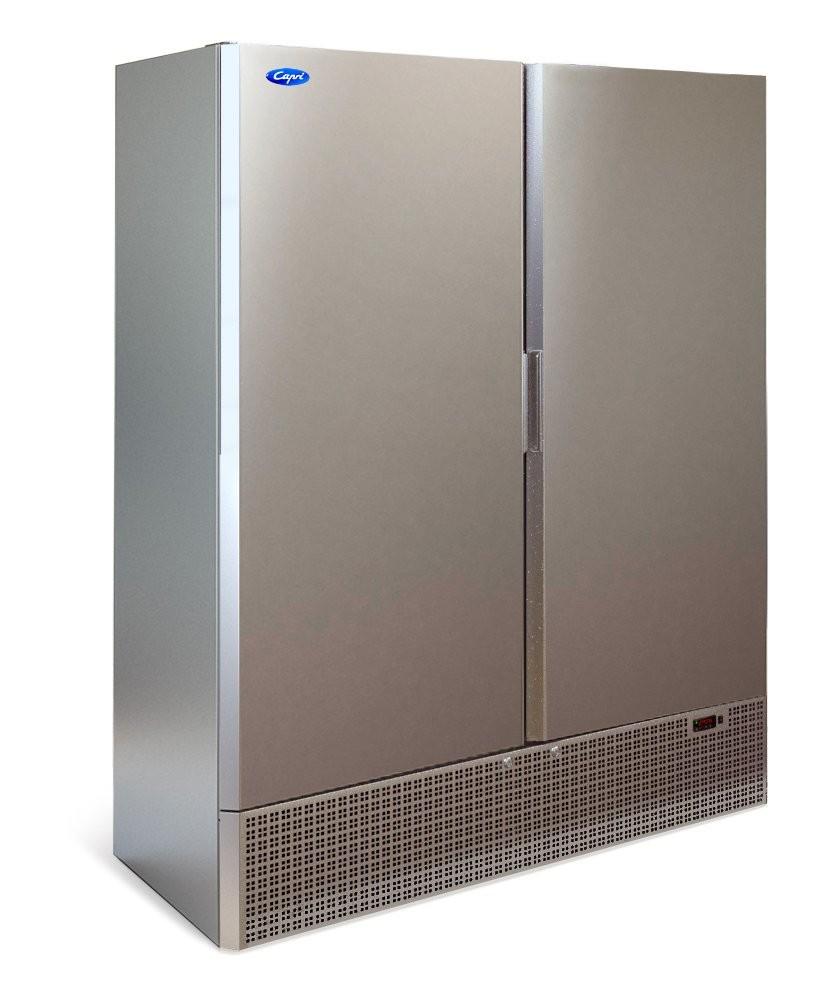 Шкаф холодильный МХМ Капри 1,12М (нержавейка)
