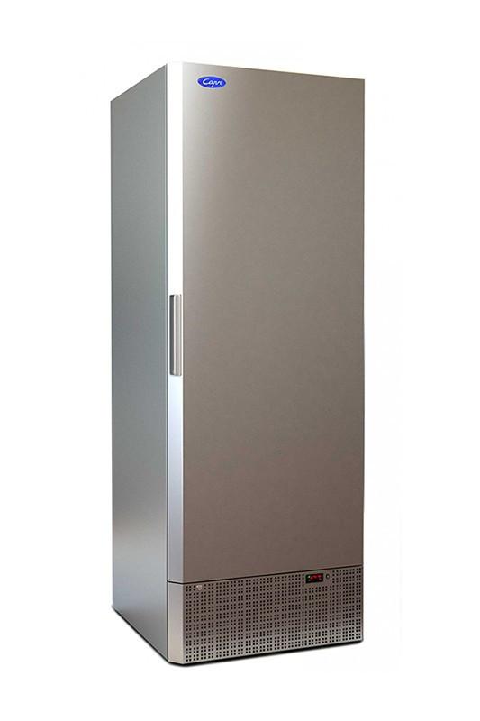 Шкаф морозильный МХМ Капри 0,5Н (нержавейка)