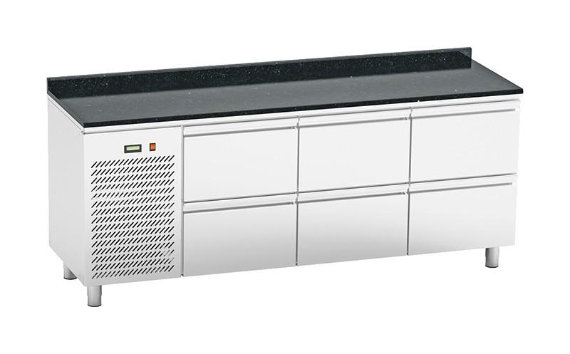 Стол холодильный Orest RTSG-6/6 2000x600