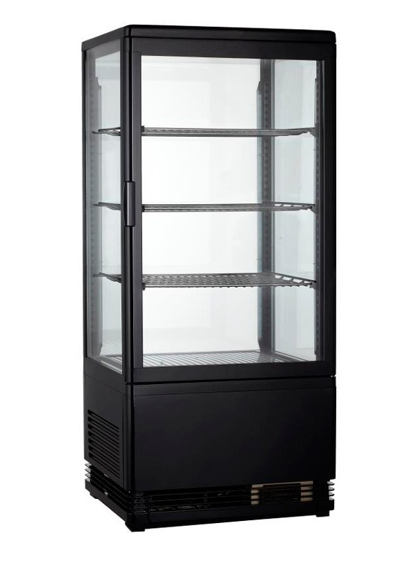 Витрина холодильная GoodFood RT78L черная