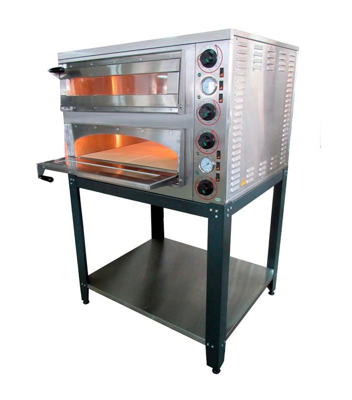 Печь для пиццы АРМ-ЭКО ППЕ-4+4Н
