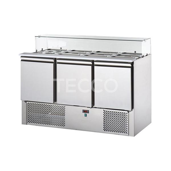 Стол холодильный саладетта Tecnodom SL03VD