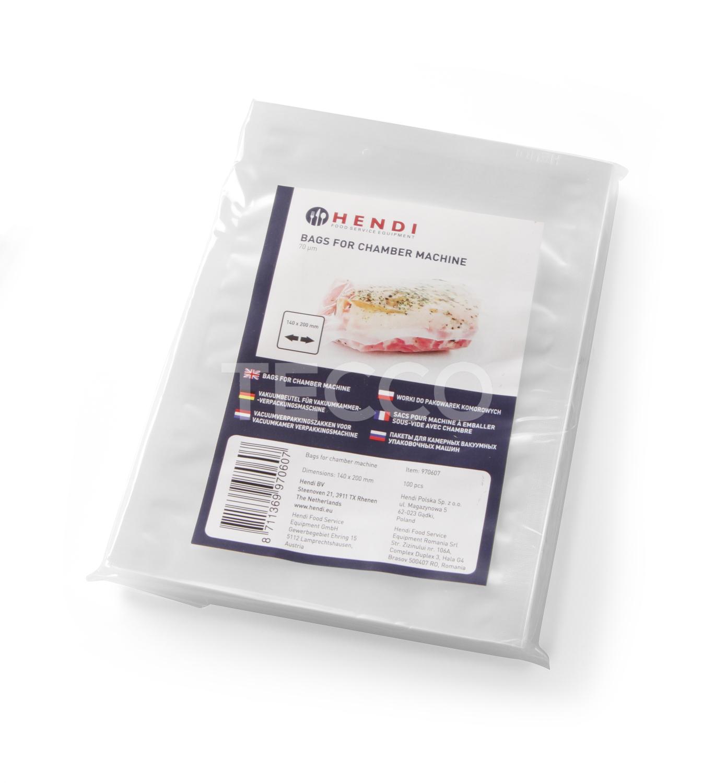 Вакуумные пакеты для су-вид гладкие Hendi 970669 250X350-55