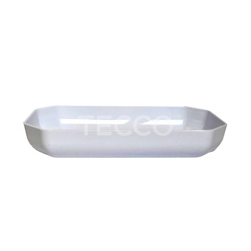 Салатник Larder 1350 поликарбонат белый