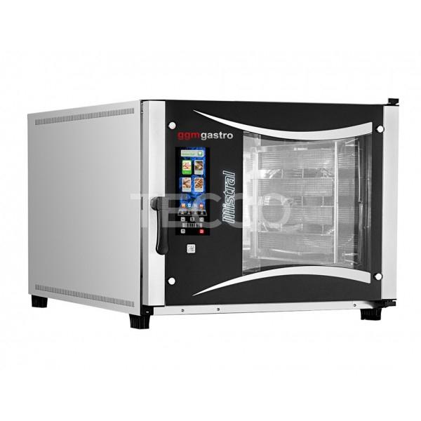 Печь конвекционная 5 x 600x400 GGM Gastro EHLB564W