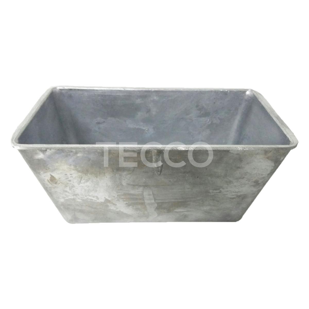 Форма хлебная Tecco №7 221x110x115 усиленная, 3-3.5 мм