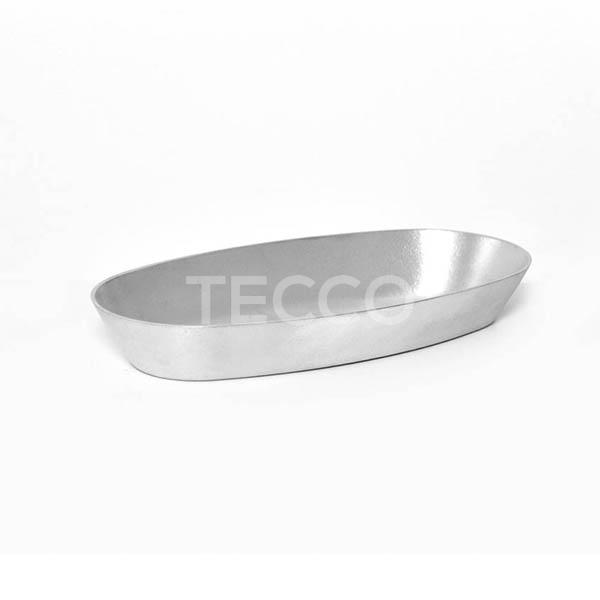 Форма овальная хлебная Tecco Каменская 290х150х40