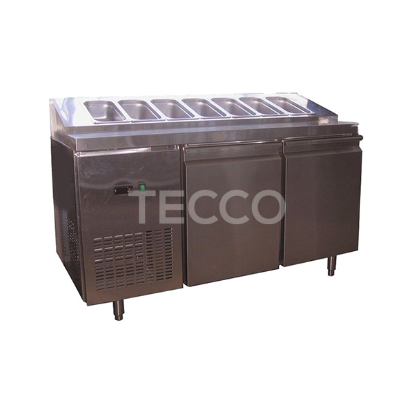 Стол холодильный саладетта CustomCool CCPZ-1500