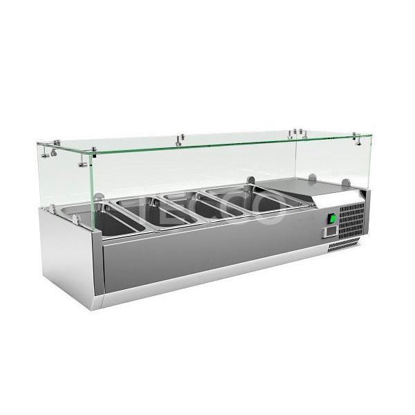 Витрина холодильная Cooleq VRX 1200/380