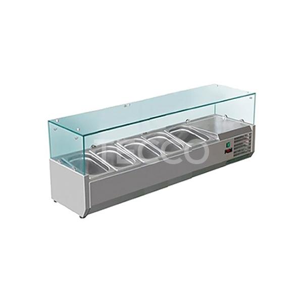 Витрина холодильная Hurakan HKN-GXD1200GC