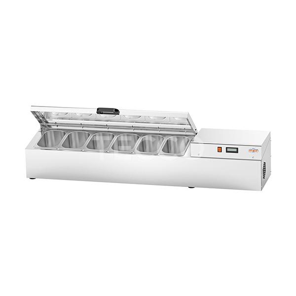 Витрина холодильная Orest DSC-1500 (6x1/4)