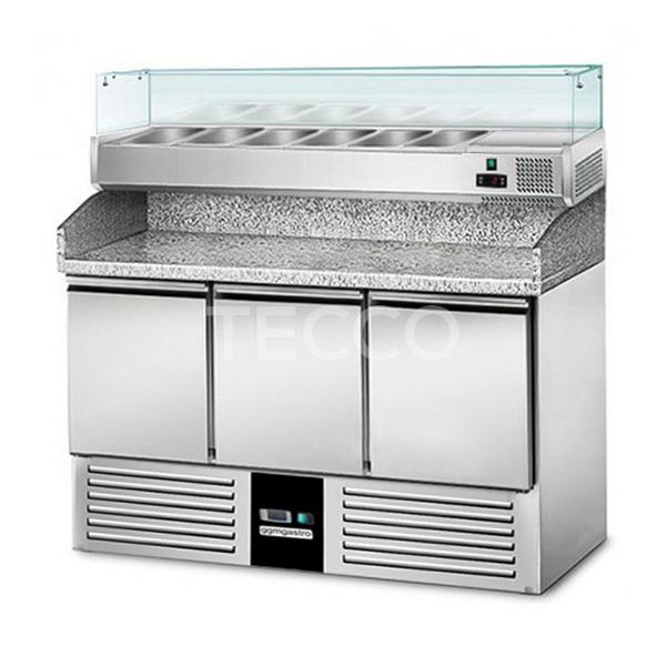 Холодильный стол для пиццы GGM Gastro POG147ND#AGG143ND