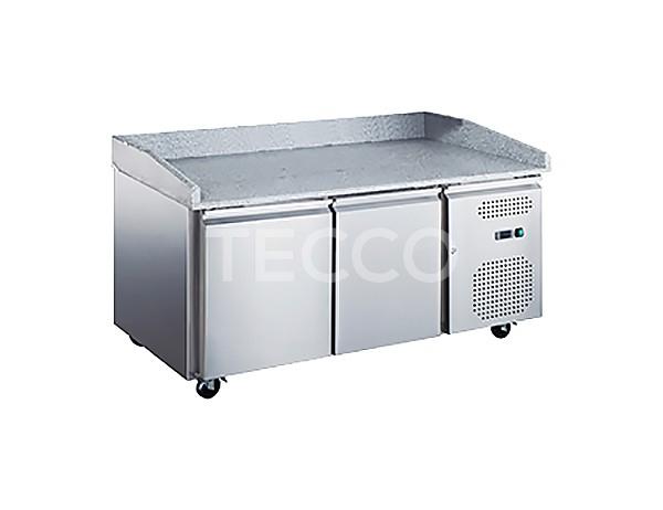 Холодильный стол для пиццы Hurakan HKN-GXPZ2GR