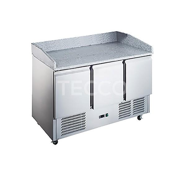 Холодильный стол для пиццы Hurakan HKN-GXPZ3GR