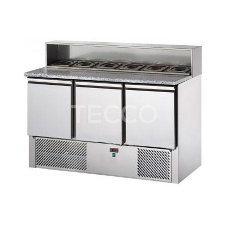 Стол холодильный для пиццы Tecnodom SL03AI