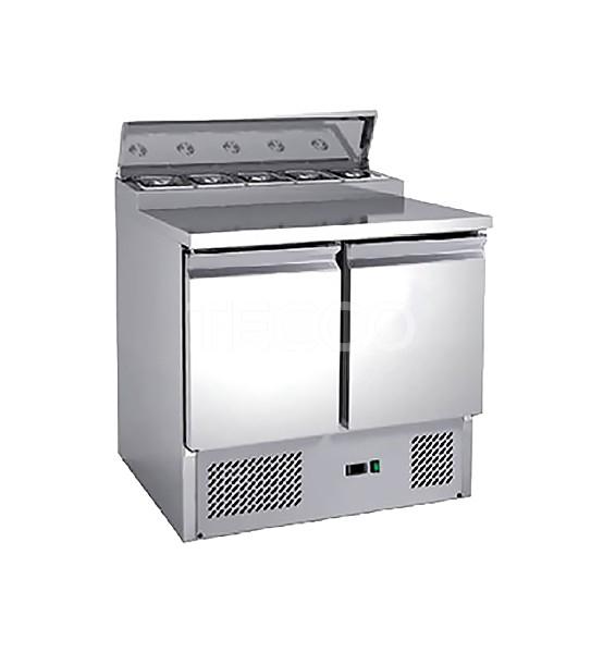 Стол холодильный саладетта Hurakan HKN-GXSD2GN-SC