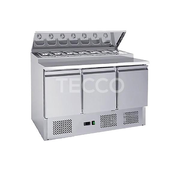 Стол холодильный саладетта Hurakan HKN-GXSD3GN-SC
