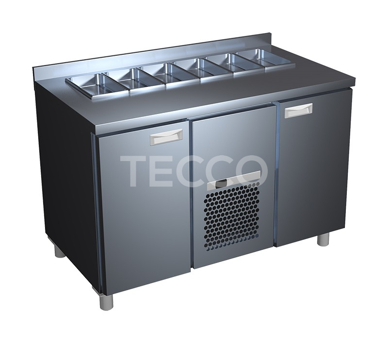 Стол холодильный саладетта Carboma SL 2GN