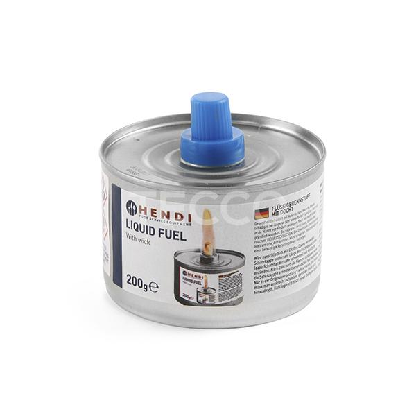 Топливо для подогрева мармитов с фитилем 200г. уп. 24 шт 193686