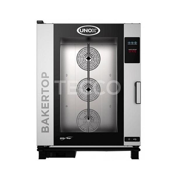 Печь пекарская конвекционная 10 х 600х400 Unox XEBC10EUE1RM