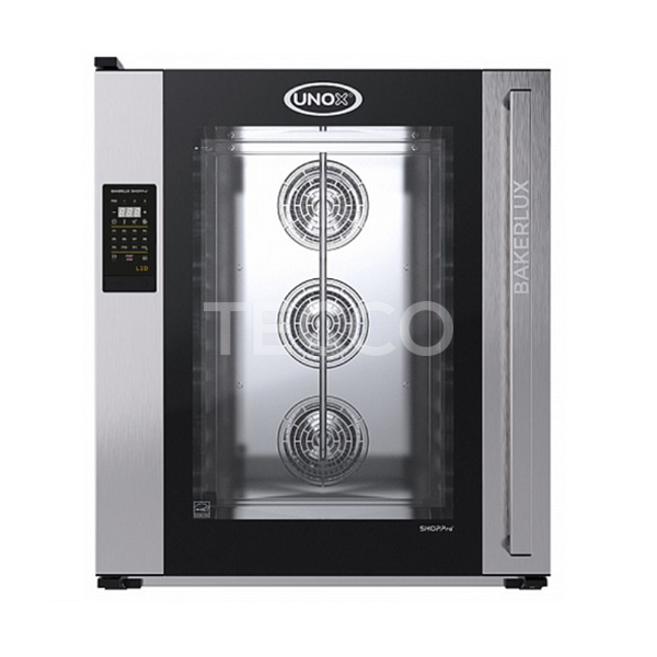 Печь пекарская конвекционная 10 х 600х400 Unox XEFT10EUELRVDR