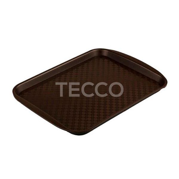 Поднос пластиковый столовый 430х300х20мм Tecco 43B