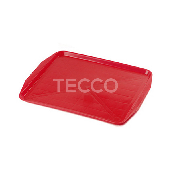 Поднос пластиковый столовый 390х290х20мм Tecco 39R