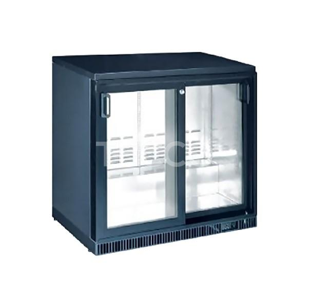 Шкаф холодильный барный Hurakan HKN-GXDB250-SL