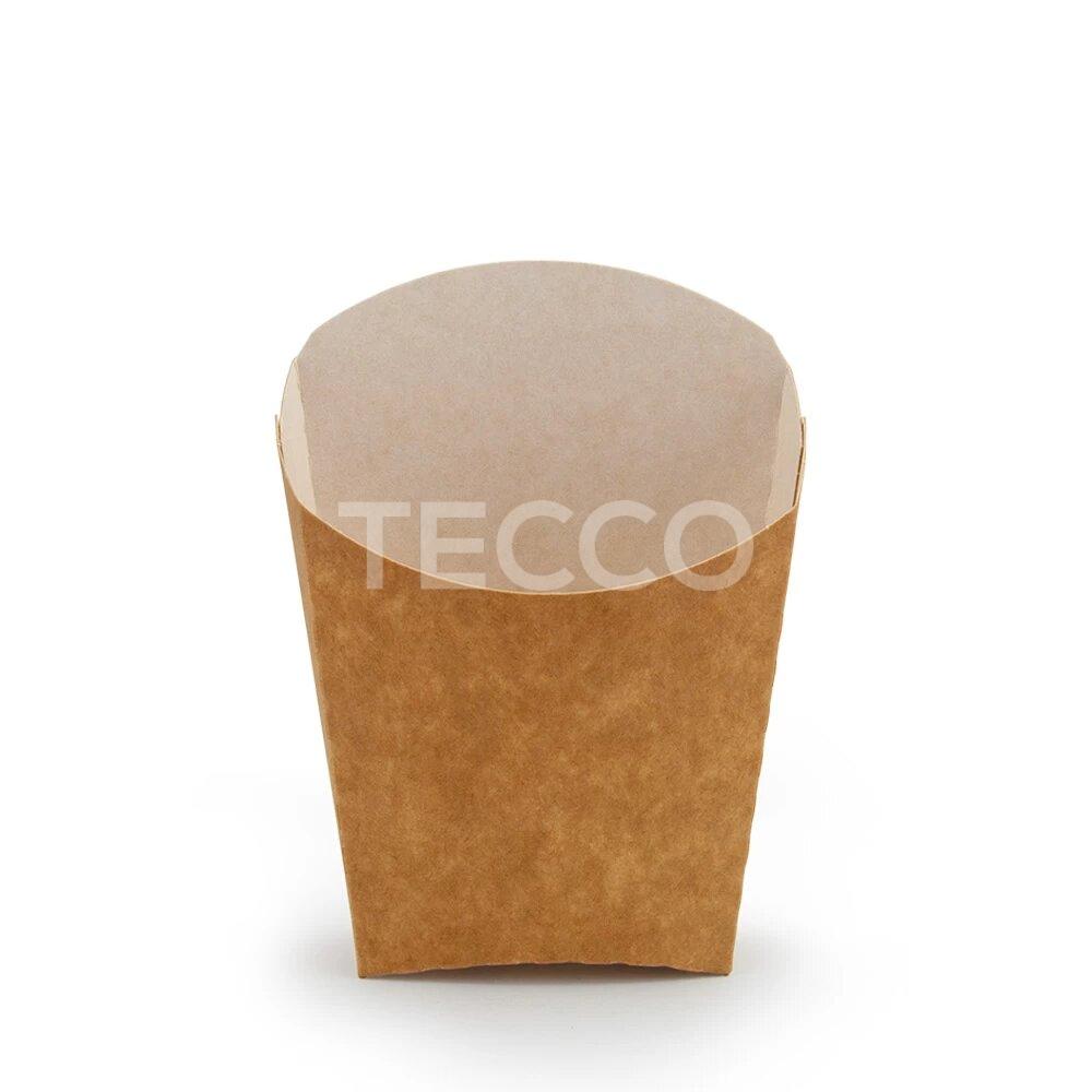 Упаковка для картошки фри 65х115мм Tecco 013912