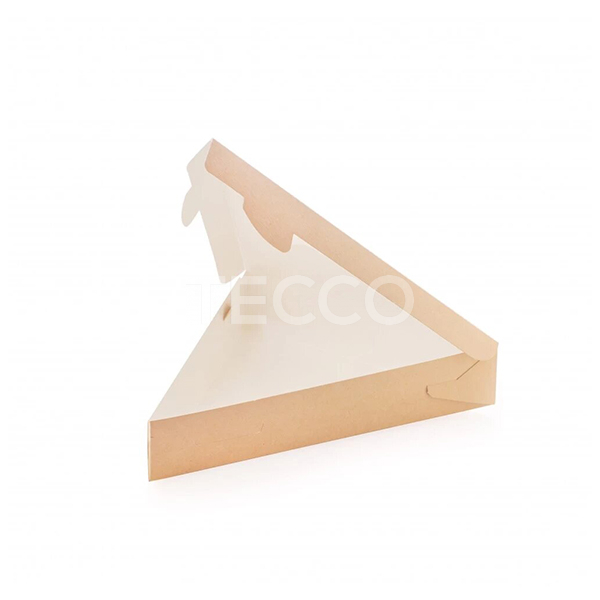 Коробка треугольная для кусочка пиццы 220х200х40мм Tecco 013946